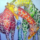 GIRAFES TENDRES COLOREES - Lisa Benoudiz