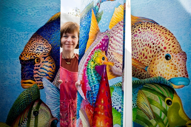 Lisa BENOUDIZ - Wildlife painter